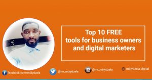 Top 10 FREE tools for business owners and digital marketers
